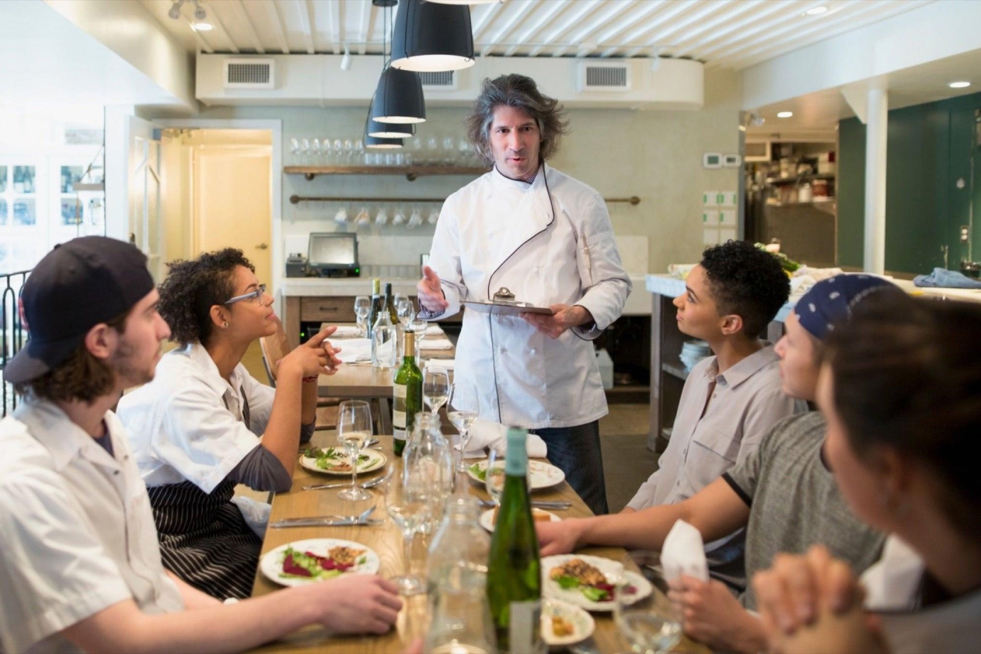 Get smart with restaurants